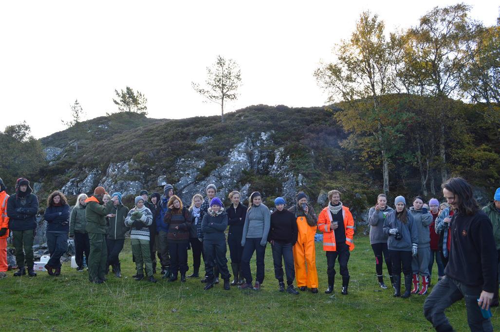 Ingvar holder morgensamling om dyrepsykologi og sauesanking